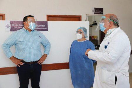 Es hora de unir esfuerzos y recursos por la salud de los meridanos: Renán Barrera