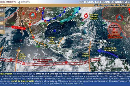 Por fin hoy regresan las lluvias en Yucatán
