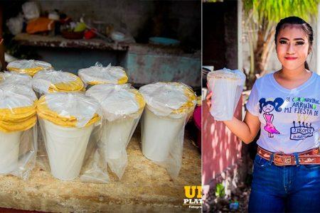 Joven meridana cambió su fiesta de XV por comida para los más pobres