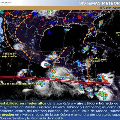 Toma precauciones: hoy se esperan tormentas fuertes en Yucatán