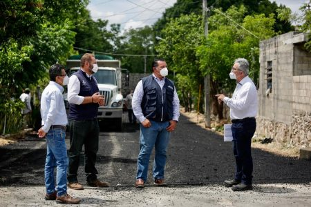 Construir calles nuevas, una prioridad del Ayuntamiento: alcalde Renan Barrera
