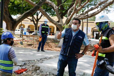 Avanzan a buen ritmo las mejoras en infraestructura urbana de las comisarías, afirma Renán Barrera