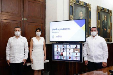 Mérida avanza, unida y solidaria para superar los retos del Covid-19: Renán Barrera