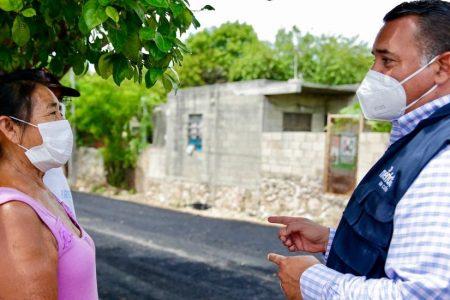 Por Covid-19, llevan acciones de bienestar emocional y nutricional a vecinos del sur meridano