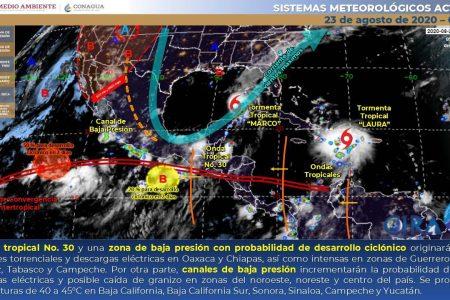La 'colita' de Marco dejará  lluvias fuertes por la tarde este domingo
