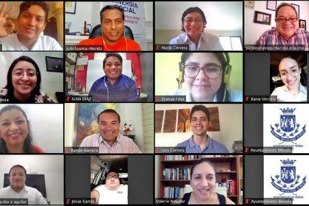 Jóvenes fortalecen la cultura de transparencia en el Ayuntamiento de Mérida