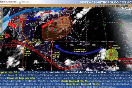 Yucatán despide agosto con calor extremo: sensación térmica superior a 40 grados