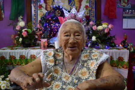 Centenaria abuelita de Mérida ha visto pasar dos devastadoras pandemias