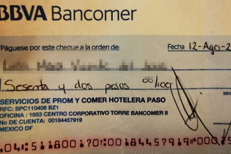 Hotel 'amigable' liquida con 62 pesos a persona con discapacidad… y le hace dar vueltas para cobrarlos