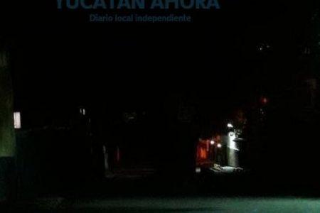 Llevan un mes con apagones de hasta 16 horas en Chablekal, la CFE ni se asoma