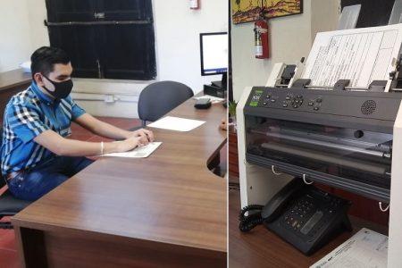 Registro Civil de Yucatán ya ofrece impresiones de actas de nacimiento en braille