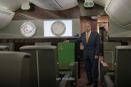 AMLO pide a los mexicanos que compren 'cachitos' para la rifa del avión presidencial
