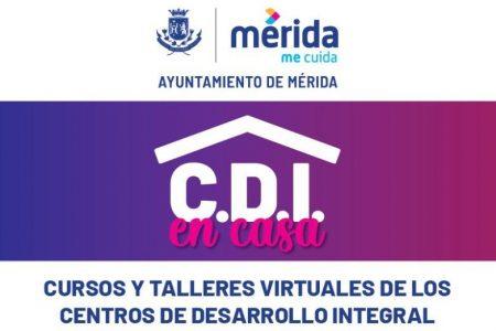 Centros de desarrollo del Ayuntamiento ofrecerán cursos en línea
