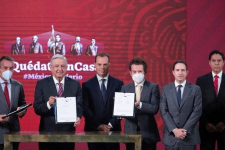 Televisa, TV Azteca, Imagen y Multimedios, transmitirán clases en línea de la SEP