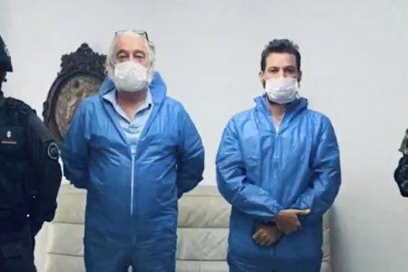 Detienen a padre e hijo que vendían 'cura milagrosa' contra Covid-19: era dióxido de cloro