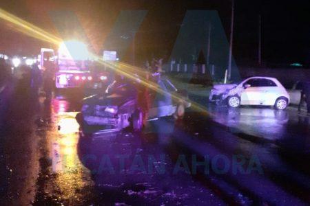 Fuerte accidente en la vía Mérida-Valladolid: cuatro lesionados