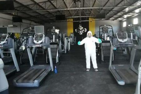 Estricto control en apertura de gimnasios en Yucatán