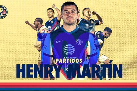 El América destaca el centenario del yucateco Henry Martín