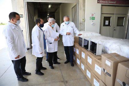 Gobierno de Yucatán sigue equipando a médicos de hospitales del gobierno federal