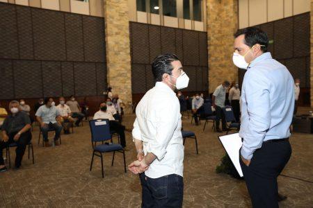 Mauricio Vila y empresarios 'amarran' acuerdos para una reapertura económica segura