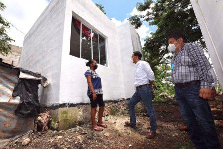 Con acciones de vivienda, el Gobierno de Yucatán mejora la calidad de vida de familias