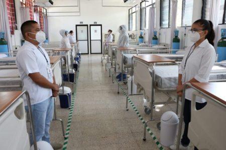 Si te enfermas de Covid-19, te pueden atender en el hospital temporal de la zona militar
