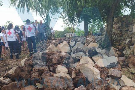 Cae un rayo sobre dos personas en el sur de Yucatán