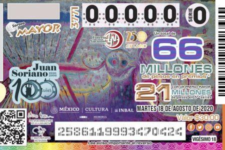 Cae de nuevo en Mérida el premio mayor de la Lotería Nacional: tercera vez del año