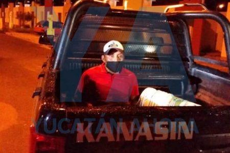 Vecinos impiden robo en una vivienda de Kanasín