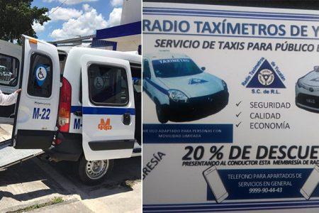 Radio Taxímetros de Yucatán apoya con descuentos en viajes ante el Covid-19