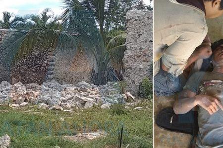 Cae muro sin cimientos y sepulta a un joven albañil