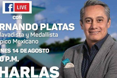 El ex clavadista y medallista olímpico Fernando Platas, invitado de lujo del IDEY