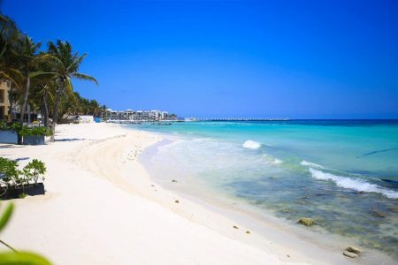 Mañana abren playas públicas de Playa del Carmen