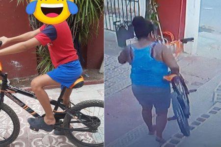 Video viral contribuye a la recuperación de una bicicleta robada en Kanasín