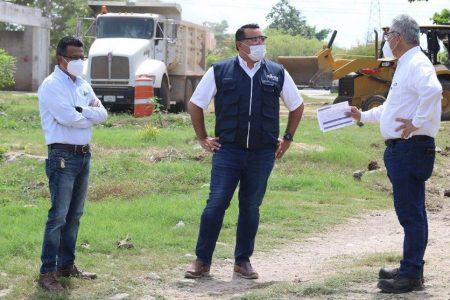 Avanzan obras para mejorar la infraestructura urbana en Mérida: Renán Barrera