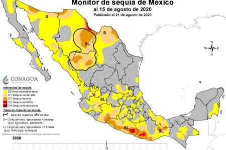 Sequía amenaza con volver a la Península: primeros efectos en Quintana Roo