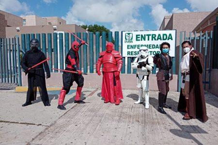 Star Wars: el despertar de la solidaridad en urgencias de la T-1 del IMSS