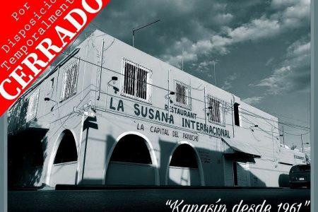 Víctima del Covid-19: cierra temporalmente el restaurante Susana Internacional de Kanasín