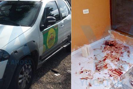 Desastrosa parranda para un taquero cancunense y su amigo de Tizimín