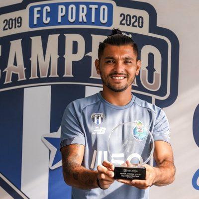 El mexicano Jesús Corona es nombrado Jugador Más Valioso de la Liga de Portugal
