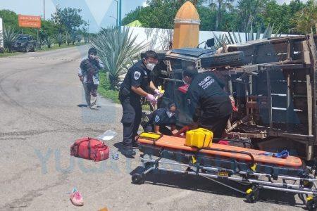 Trágico accidente en la carretera Mérida-Chicxulub Puerto: muere una mujer