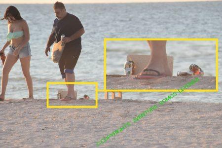 Violan cuarentena, ley seca y encima dejan su basura en la playa