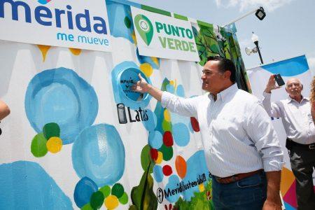 Covid-19 no impide que avance en Mérida el cuidado al medio ambiente