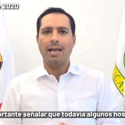 Mauricio Vila pide a la gente que colabore más para romper cadenas de contagios