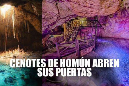 Ya puedes reservar para acceder a los cenotes de Homún