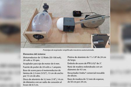 Desarrolla CICY respirador simplificado para pacientes Covid