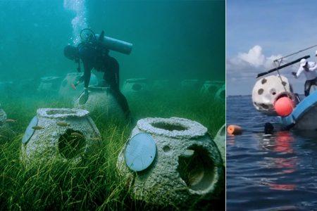 Instalan en Yucatán el primer cementerio marino de Latinoamérica