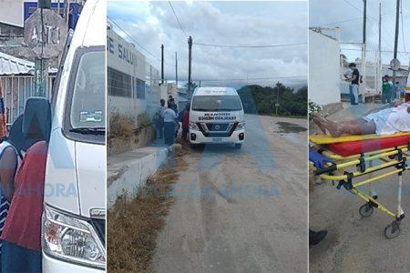 Cae un rayo a tres personas que se bañaban en la playa de El Cuyo