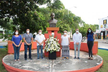 Conmemoran el 126 aniversario del natalicio de Ermilo Abreu Gómez