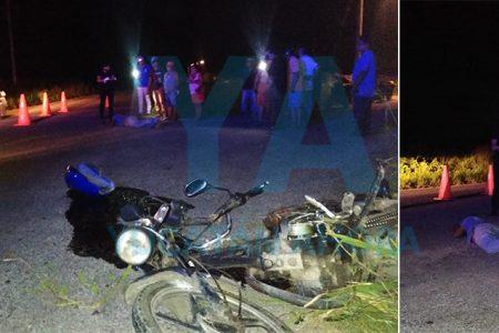 Derrapa un motociclista alcoholizado